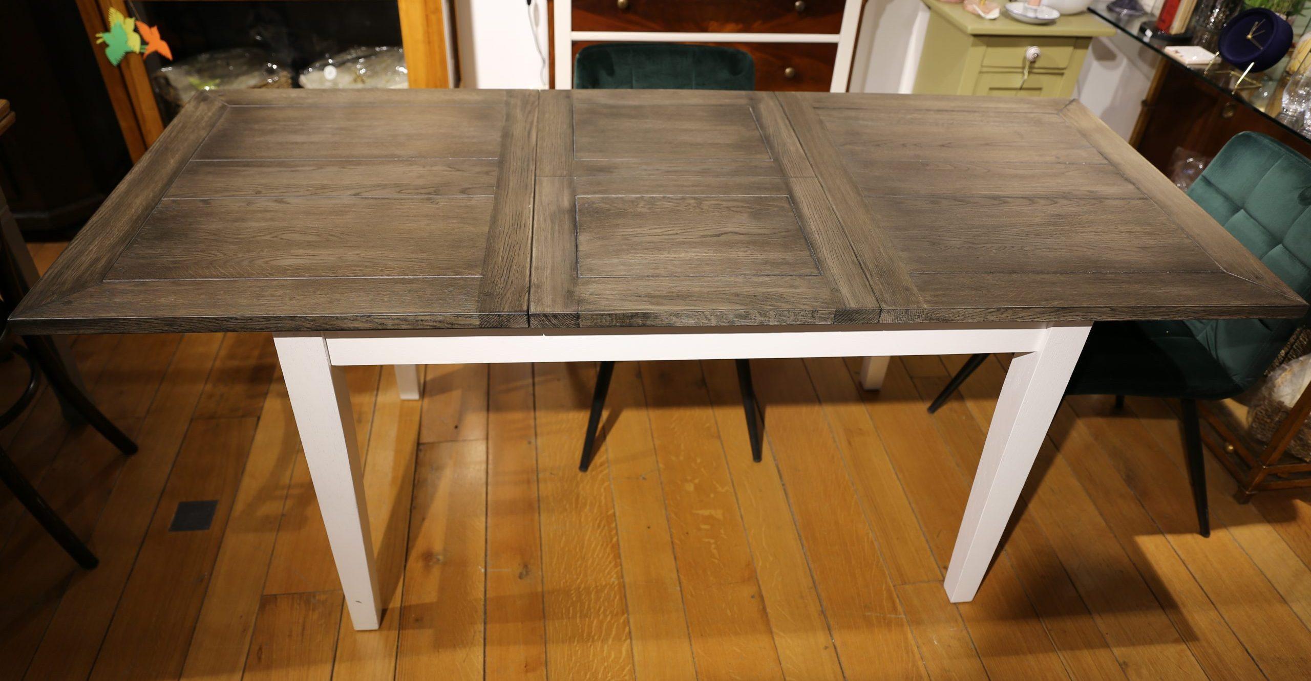 Tisch ausziehbar – verschiedene Farben und Größen