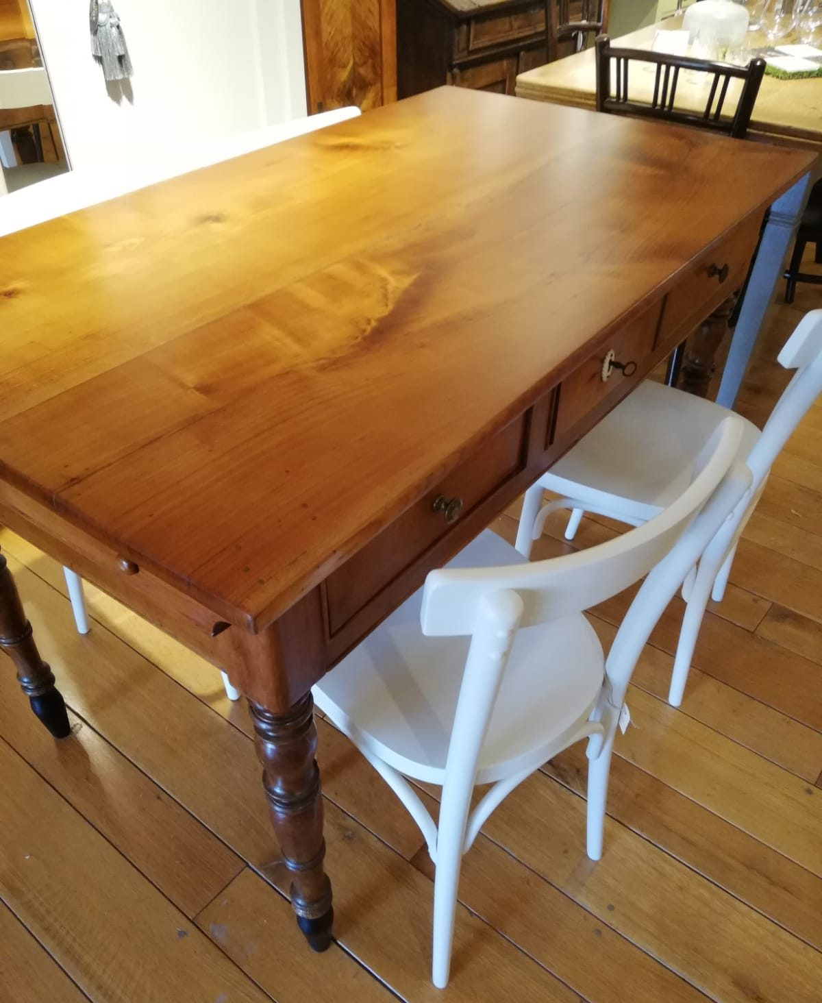 Tisch um 1860 – Kirschbaum