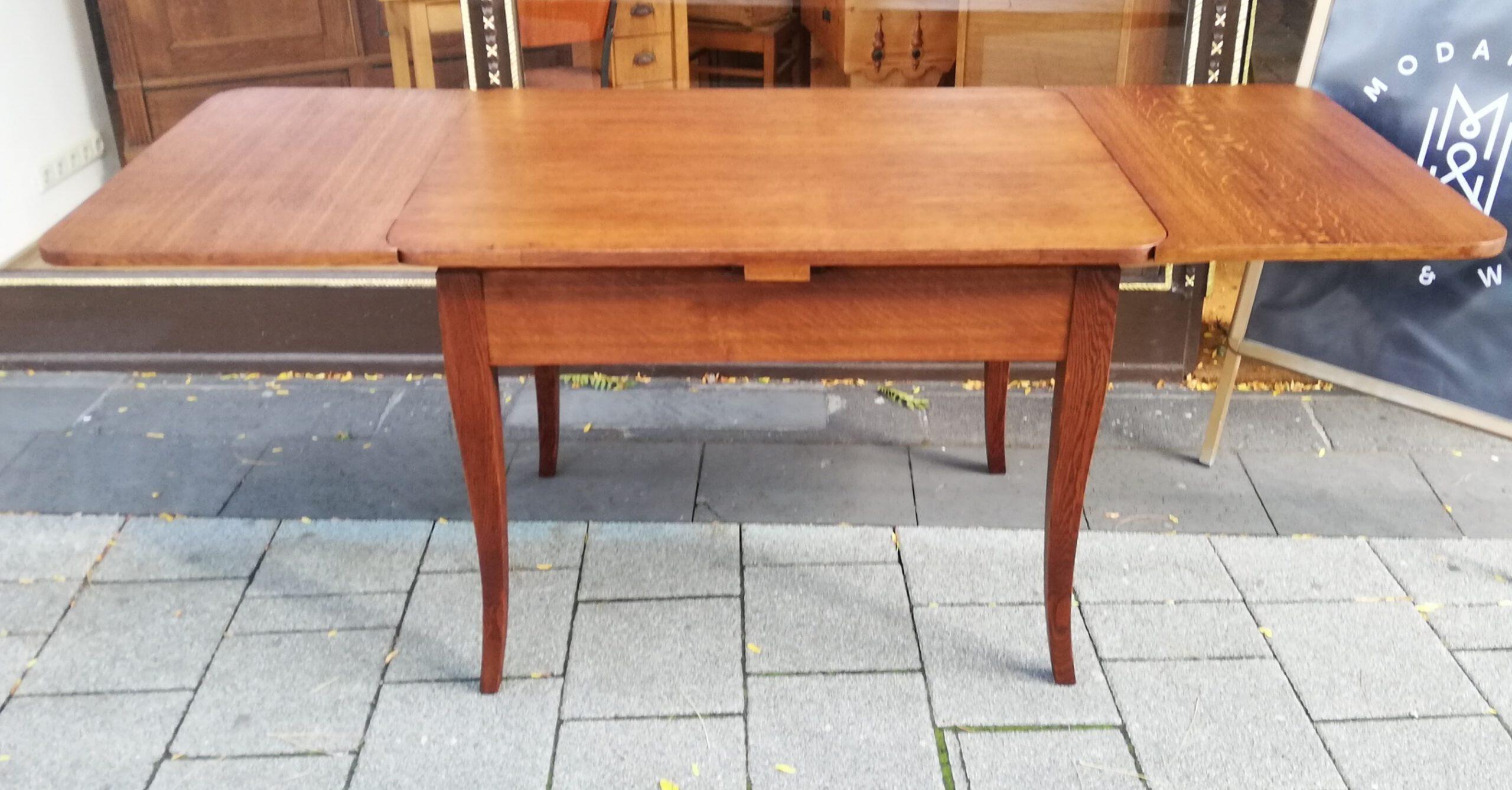 Biedermeier Ausziehbar Tisch Eiche
